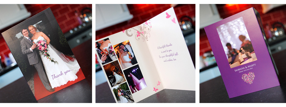 wedding thank you cards northern ireland