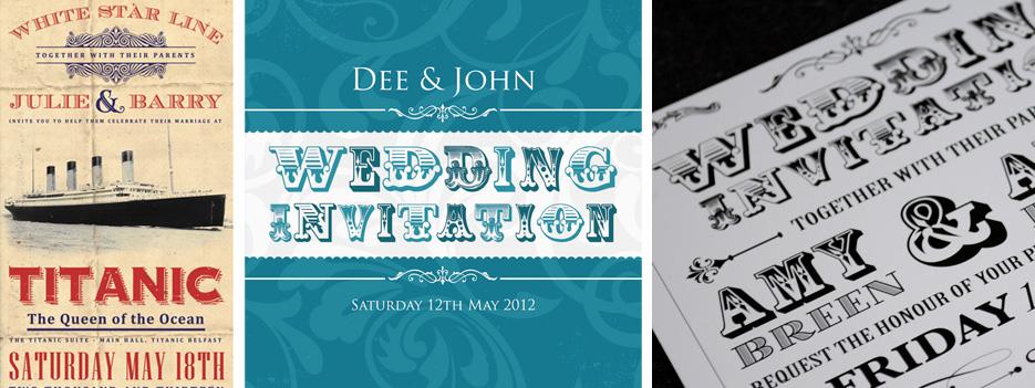 unique wedding invitation design | marty mccolgan
