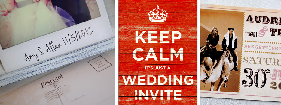 unique wedding invites | marty mccolgan
